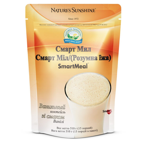 СмартМил / Ванильный коктейль | SmartMeal / Vanila Shake, фото 1